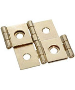 Brass plated Double acting folding screen hinges (Set of two) - $3.32