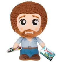 Bob Ross The Joy of Painting with Palette 9 Inch Tall Plush Figure Toy F... - €11,85 EUR