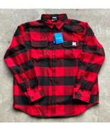 Columbia Nebraska Huskers Men's Heavyweight Flannel Shirt Size 2XL New! ... - $69.30