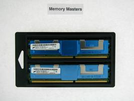 MT36HTF1G72FZ-667C1D4 16GB 2x8GB 240p 512x4 DDR2-667 2Rx4 1.8V Ecc Fbdimm - $227.69