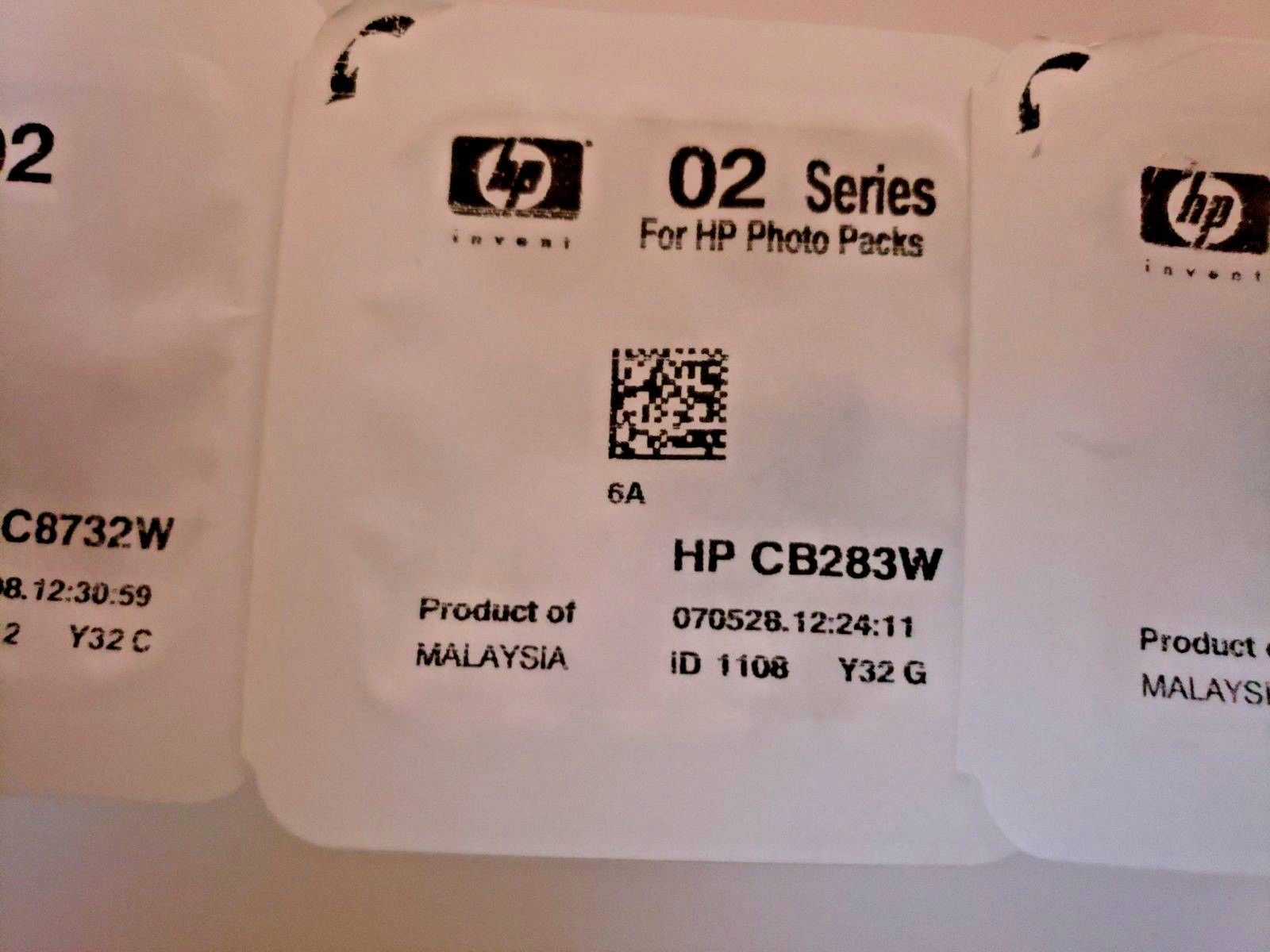 Genuine HP 02 Ink Cartridge Photo Value Pack C8733W C8734W C8732W CB283W image 4