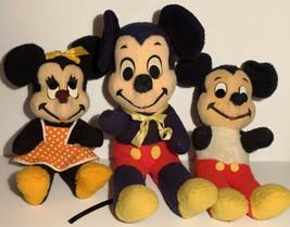 RARE VTG LOT Walt Disney Characters Mickey Mouse Minnie Walt Disney Dist... - $75.00