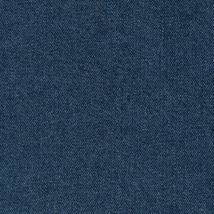 Longaberger Small Loaf Biscuit 2001 Bee Basket Denim Blue Fabric DI Liner Only - $8.86
