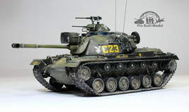 US M48A3 Patton Vietnam war 1:35 Pro Built Model  - $247.50