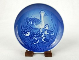 """Bing & Grondahl 6"""" Mother's Day Plate, Mors Dag 1978 Mama Duck w/Babies,... - $6.81"""
