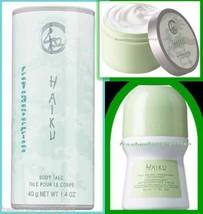 Womens Fragrance Set HAIKU ~NEW~ (Quantity of 1 Set-Talc, Roll On, Softe... - $10.87