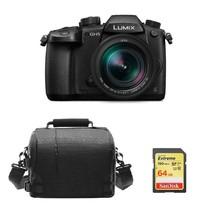 PANASONIC GH5 Black + 12-60mm F2.8-4.0 ASPH Black + 64GB SD card + Camer... - $2,237.01