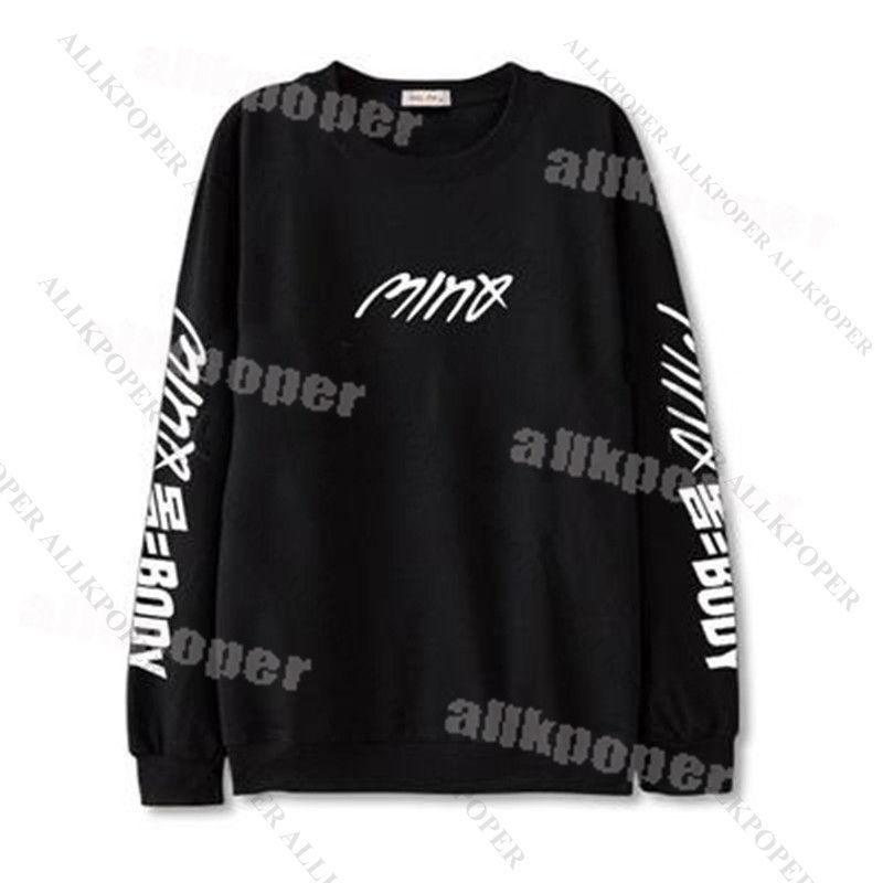 KPOP WINNER MINO Sweater SOLO BODY Hoodie Sweatershirt Pullover Long Sleeve