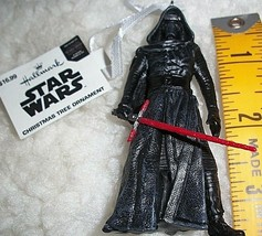 Star Wars Kylo Ren Light Saber Collectible Hallmark Christmas Ornament New Gift - $17.81