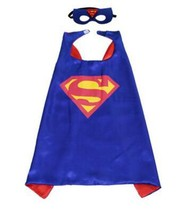 TPDT* Style 1 Kids Superhero Capes Super Hero Cape And Mask Party Suppli... - £15.63 GBP