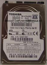 "New 40GB Toshiba MK4034GSX 2.5"" 9.5MM SATA Drive HDD2D39 Free USA Shipping"
