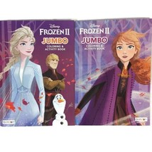 Disney Frozen II Jumbo Coloring and Activity Book For Children.New Set ... - $15.35