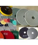 3 Inch Diamond Polishing Pad 58 + 8 Buff Granite Marble Terrazzo Masonry... - $92.06