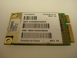 Qualcomm J9CUNDP-1 Broadband WWAN Mobile Wireless Mini PCI-E Card T77Z039.18 LF image 2