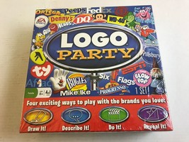 SPIN MASTER LOGO PARTY GAME NEW                                         ... - $17.42