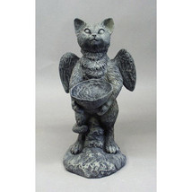 Adorable Kitty Cat w/ Wings Statue Sculpture Bi... - $112.16