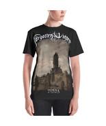 Forgotten Winter - Vinda [Black t-shirt with long design / Women] - $37.00
