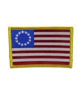ALBATROS Betsy Ross Historical 13 Star Flag 6 Pack Iron On Patch for Hom... - $39.32