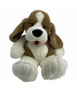 Commonwealth Plush Hound Dog Saint Bernard Brown Tan White Black Nose 19... - $49.45