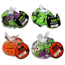 Mfr* (1) 60pc Set Erasers Kids School Halloween Shapes Mini *You Choose* New! 1a - $2.99