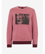 A|X Armani Exchange Men's Pullover Graphic Print Sweatshirt, Heather Ros... - $59.39