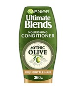 Garnier Ultimate Blends Olive Oil Dry Hair Conditioner 360ml - $12.62