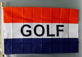 "GOLF 3X5' BANNER FLAG 3'X5' BIG SIGN 36X60"" 3 X 5 NEW - $9.85"