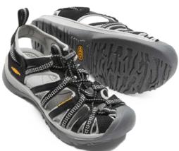 Keen Whisper Size US 8.5 M (B) EU 39 Women's Outdoor Sport Sandals Black... - $53.85