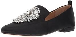 Badgley Mischka Women's Salma Loafer, Black, 9.5 M US - $245.96