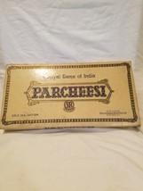 Vintage Parcheesi Brettspiel Gold Seal Edition Familienspiel Nacht 1946 - $20.94
