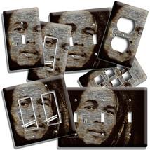BOB MARLEY JAMAICAN MUSICIAN LIGHT SWITCH OUTLET WALL PLATES MUSIC STUDI... - $10.99+