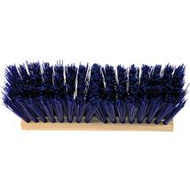 Hamburg Nexstep Blue Heavy Duty Street Broom Head Only 16 Inch 072627206110 - $40.22