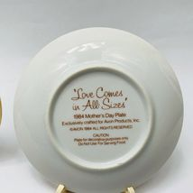 Avon Mothers Day Plates Set of 11 with Easels 1981-1991 image 6