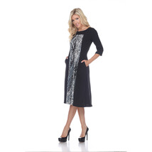 Constance Midi Dress - Grey Snake image 2