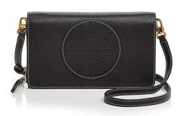 Tory Burch perforiert Logo flach Leder Portemonnaie Umhängetasche ~ NWT ~ - $196.02