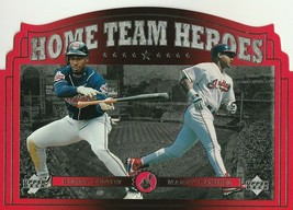 1997 Upper Deck Home Team Heroes #HT11 Kenny Lofton/Manny Ramirez - $0.75