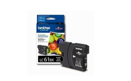 Brother LC61BK Black Ink Cartridge For DCP-165C, DCP-385C, DCP-395CN, MF... - $36.58