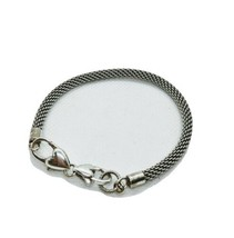 BRIGHTON  Silver Mesh Beverly Glam 8 inch Bracelet  - $28.01