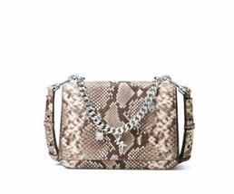 Michael Kors Mott Charm Swag Shoulder Bag (Natural, Large) - $233.70