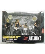 Metallica Harvesters of Sorrow Super Stage Figures ENTIRE BAND - James H... - $454.91