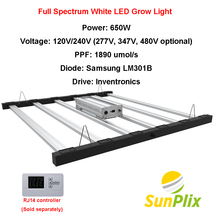 SunPlix Full Spectrum White LED Grow Light Replacing Fluence SPYDR Gavita 1700e - $839.99+