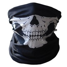 Motorcycle Skull Face Mask Scarf Ski Snowboard Bike Scooter Halloween Co... - $9.97