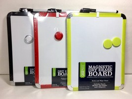 "Magnetic Dry Erase Board 8.5""x11"" with Dry Eras... - $7.99"
