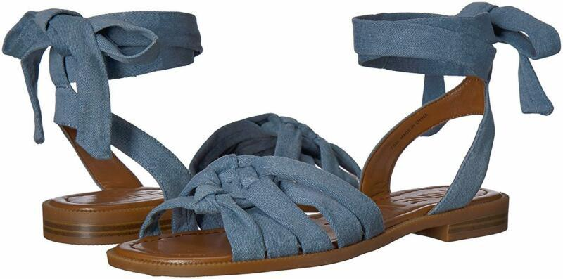 Nine West Women'S Xameera Denim Flat Sandal