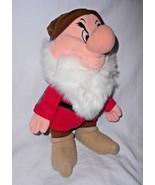 Walt Disney Snow White Grumpy Dwarf Plush Doll World on Ice Soft Toy - $24.73