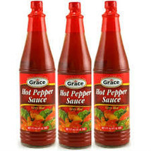 Grace Hot Pepper Sauce (pack of 3) - $9.99