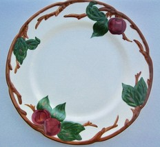 Franciscan Apple 3 Dinner Plates Earthenware California Mark Hand Decorated - $50.00