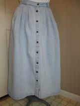 Susan Bristol Denim Skirt SZ 6 No slits - $12.99