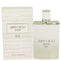 Jimmy Choo Ice by Jimmy Choo 3.4 oz EDT Cologne Spray for Men New in Box - $46.03