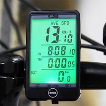 Waterproof Bike Computer Speedometer Bicycle Odometer Lcd Cycle Wireless... - €12,43 EUR